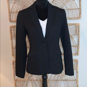 Robbi & Nikki 'New Look' Textured Blazer Black